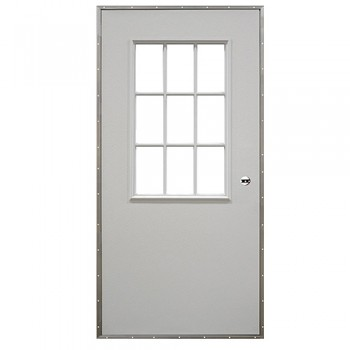 9 Lite/Cottage Out-Swing Door