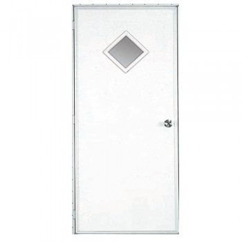 10 x 10 Diamond Out-Swing Door
