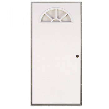 Elixir Fan Light Out Swing Door Mobile Home Exterior Door
